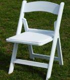 Silla blanca de Wimbledon de la resina, silla de plegamiento de la resina para la ceremonia de boda