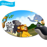 Cópia grossa lisa Round Mouse Pad personalizada