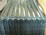 Покрынный цвет высокого качества гальванизированным настилающ крышу лист