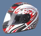 De volledige Helm van het Gezicht (101-R&W)