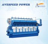 Boots-Dieselmotor der Leistungs-2500kw für Ozean-Fischerei-Fahrzeuge