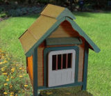 Eco-Friendly Big Dog Cabin Wooden Pet House