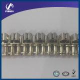 機械(フィルムクランプ鎖)のためのステンレス鋼のローラーのグリッパーの鎖
