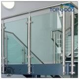 Edelstahl-Treppen-Bodenbelag-Geländer für Balkon, Badezimmer (88310)