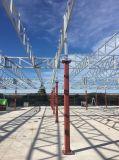 Профессионал конструировал полуфабрикат мастерскую/здание/Wearhouse стальной структуры/после того как он полинян