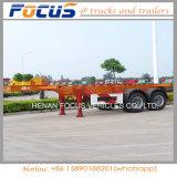40t Semi Aanhangwagen van de Vrachtwagen van de Chassis van de Container van het Skelet van de nuttige lading de Zware