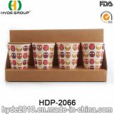 Tazza di bambù organica biodegradabile della fibra di nuovo disegno (HDP-2066)