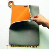 La tablilla impermeable de la maneta de la cremallera del neopreno envuelve el bolso del caso