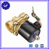 Клапан клапана соленоида воды клапана соленоида DC 12V DC24V латунный электрический латунный