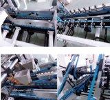 4/6 de frio de canto automático cheio que cola a máquina de dobramento para a cesta de papel