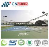 Corte ao ar livre do plutônio do silicone para o tênis, voleibol, Badminton, basquetebol,