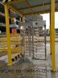 Da porta cheia do torniquete da altura da impressão digital torniquete Pedestrian da altura meio para o metro