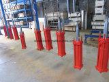 Cilindro do petróleo hidráulico de Rod de laço para a linha de produção