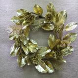 Гирлянда рождества/венок (Swag Pinecone листьев Magnolia) для украшения