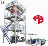 Máquina que sopla de la película plástica del LDPE del HDPE para el bolso del conjunto