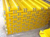 Plywood cofragem feixe H20 Pintura amarela