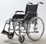 Manual de aço, rodas do plutônio, cadeira de rodas, (YJ-018EC-4)