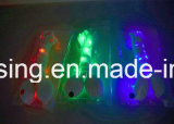Shoestring variopinto del merletto del nylon LED