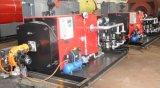 300kw自動火管のディーゼル熱湯ボイラー
