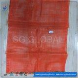 Мешок сетки полипропилена для упаковывать фрукт и овощ 25kg