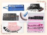 Щетка косметик продуктов красотки/составляет комплект с косметическим случаем
