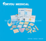 Medizinische anhaftende antibakterielle silberne Ionenkalziumalginat-Wundbehandlung Sad2002
