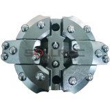 Konzentrisches Plättchen-Block-Gehäuse-bohrende Systems-Bits