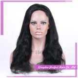Парик волос Реальный индийских женщин человеческих волос фронта шнурка парики