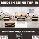 Insieme di cuoio sezionale del sofà di svago moderno