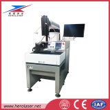 Maçaneta de porta de alta precisão / máquina de solda a laser de chaleira com raio laser de elevação automática