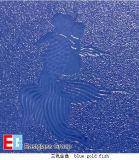 زرقاء [غلدفيش] [بتّرن غلسّ]