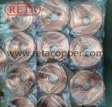 Tamanho padrão de cobre ASTM B360 de câmara de ar capilar