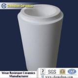 Fodera di ceramica resistente all'uso del tubo del gomito per trasporto dei residui del minerale ferroso