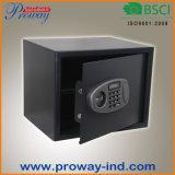 Da caixa segura eletrônica da segurança Home de Digitas tamanho reais de aço contínuos da construção