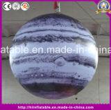 Fabrik-Preis Sun, Mars, Saturn-Sonnensystem-aufblasbarer neun Planeten-Ballon-aufblasbarer Planet mit LED-Licht