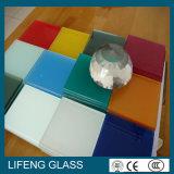 A cor pintou o vidro envernizado matizado vidro para a mobília