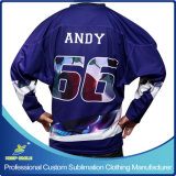 Ice Hockey SportsのためのカスタムSublimation Printing Ice Hockey Shirts