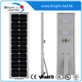 LiFePO4 Lithium Batteryの60W Smart Integrated Solar LED Street Light