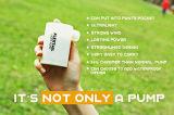 Pompa massima - pompa gonfiabile ricaricabile della base del USB, pompa di aria per i giocattoli gonfiabili, galleggianti o basi di aria, peso leggero, veloce & potente