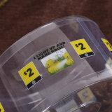 OEM明確なプラスチックシリンダーボックス(ペット管)
