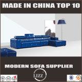 Sofa en cuir réel utilisé par maison de vente chaud