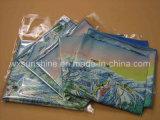 Ткань чистки печатание карты Microfiber (SF-001)