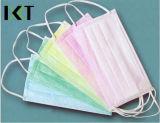 Tipos conservados em estoque cirúrgicos descartáveis Kxt-FM09 do fabricante três da máscara protetora