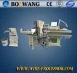 Máquina que prensa terminal de los altos extremos dobles exactos automáticos de Bzw-3.0+C con la inserción del sello