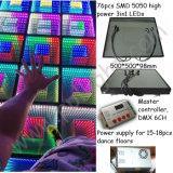 Disco-Partei-Spiegel-Abgrund-Effekt 0.5*0.5m DMX 3D LED Dance Floor