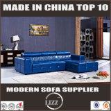 Heißes verkaufenhaus verwendetes reales ledernes Sofa
