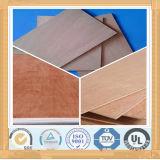 La mélamine en bois de grain d'utilisation de meubles a fait face au contre-plaqué
