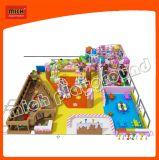 Спортивная площадка популярной мягкой серии конфеты оборудования игры крытая