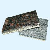 Comitati di pietra del favo del granito per le facciate della parete