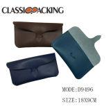 La lunetterie initiale neuve de lunettes de soleil de modèle Shinny le sac à main mou en cuir de caisse d'unité centrale de Faux pour la promotion